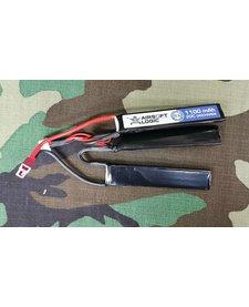 11.1V Lipo Battery 1100mAh Triplet Dean