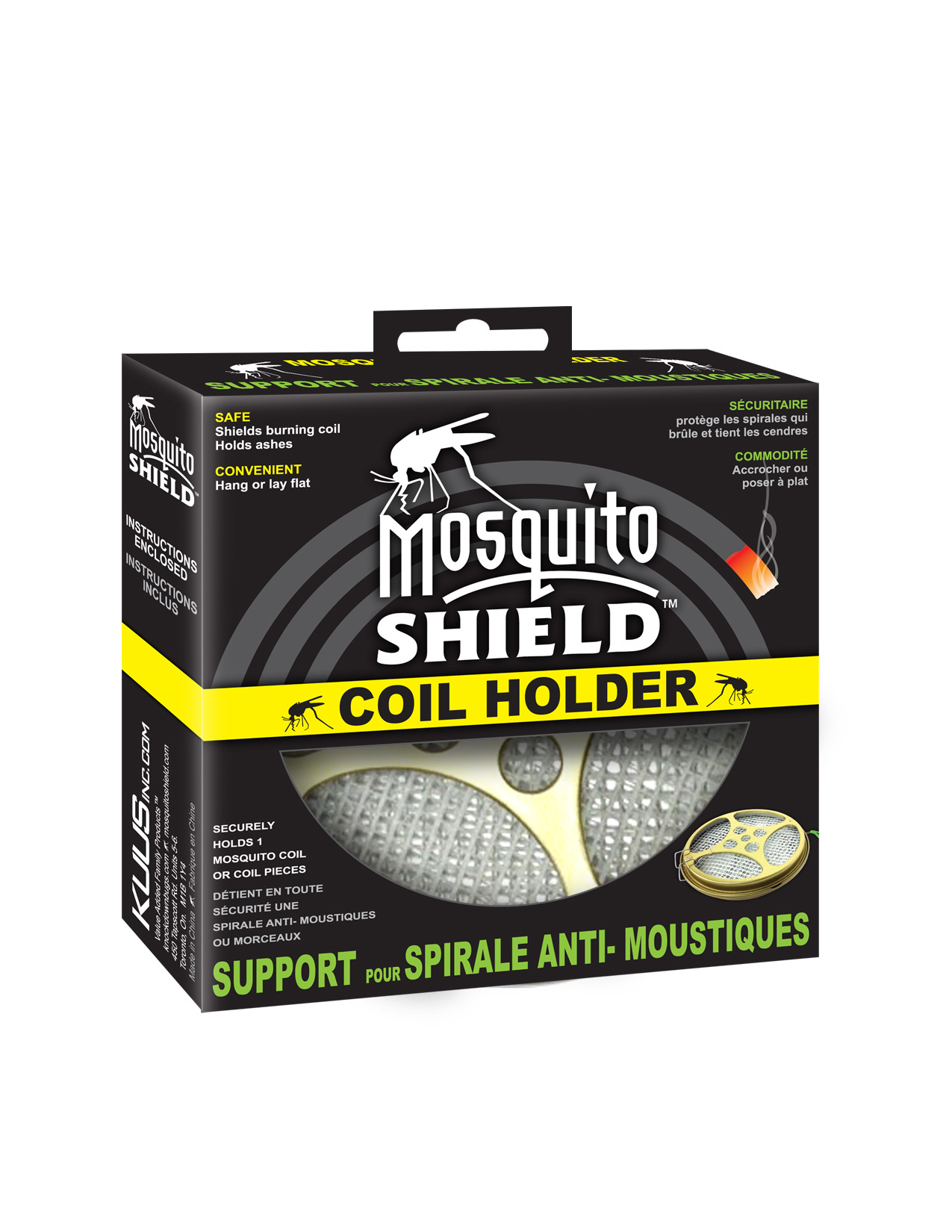 Mosquito Shield Mosquito Coil Holder (Only)
