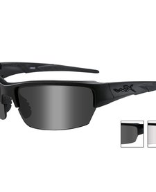 WX Saint Gray/Clear/Matte Black Frame