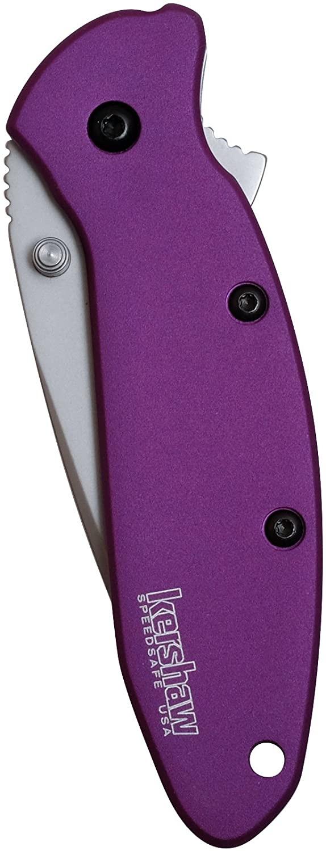 Kershaw Scallion Purple
