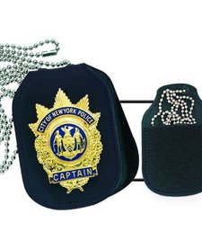 Clip-On Badge Holder