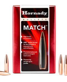 Hornady 30501 Match Rifle Bullets 30 .308 168GR