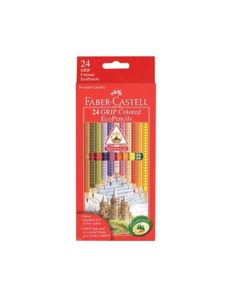 Faber Castel GRIP Colored EcoPencils 24 ct