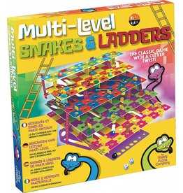 Mukikim Multi-Level Snakes & Ladders