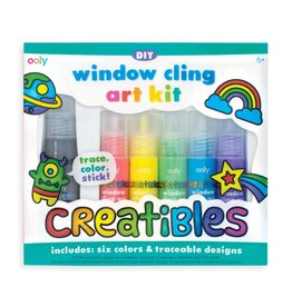 Ooly Window Cling Art Kit