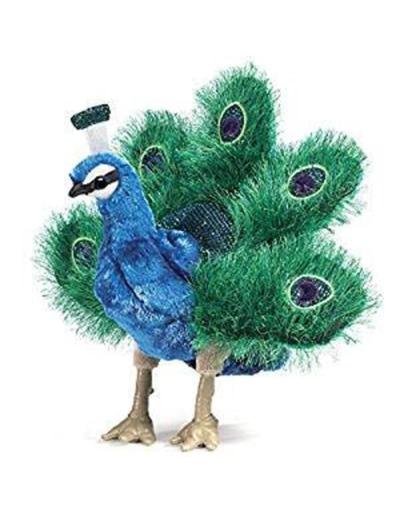 Folkmanis Sm Peacock Puppet