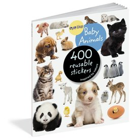 Workman Pub EyeLike Baby Animal Stickers