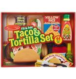 Melissa & Doug Taco & Tortilla Set
