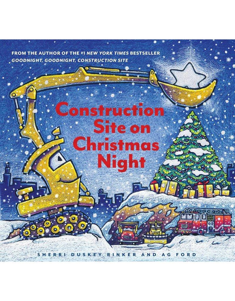 Construction Site Christmas Night