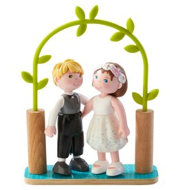 Haba USA Little Friends Bride & Groom