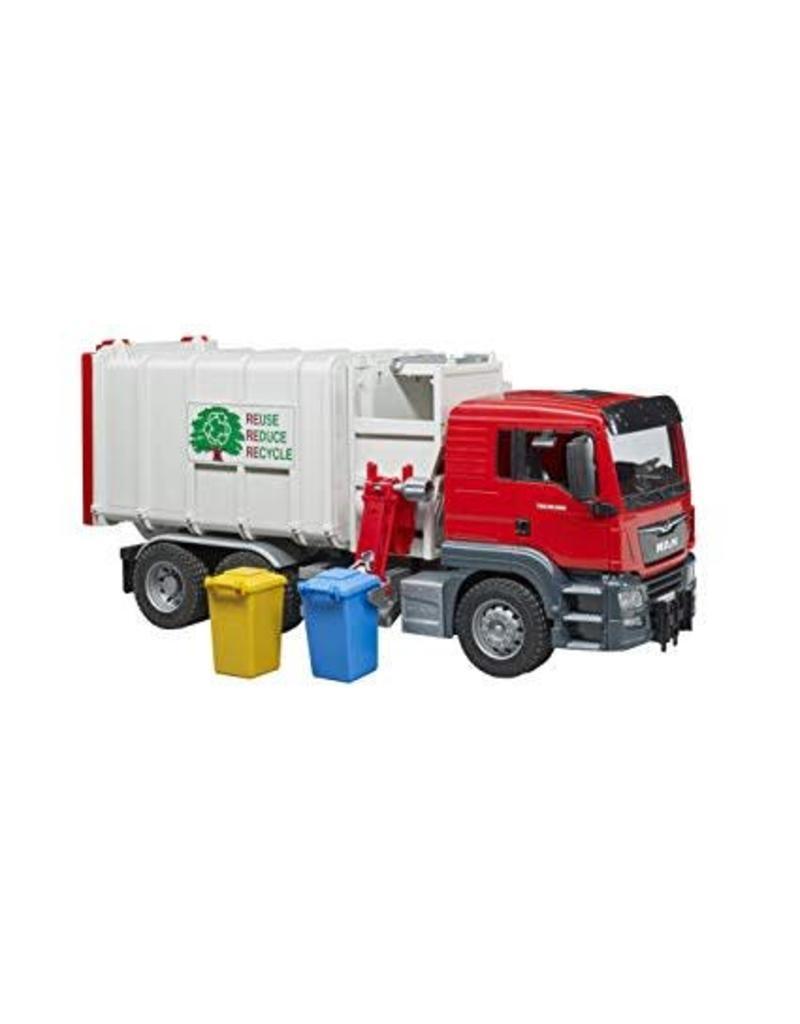 MAN TGS Side loading Garbage Truck