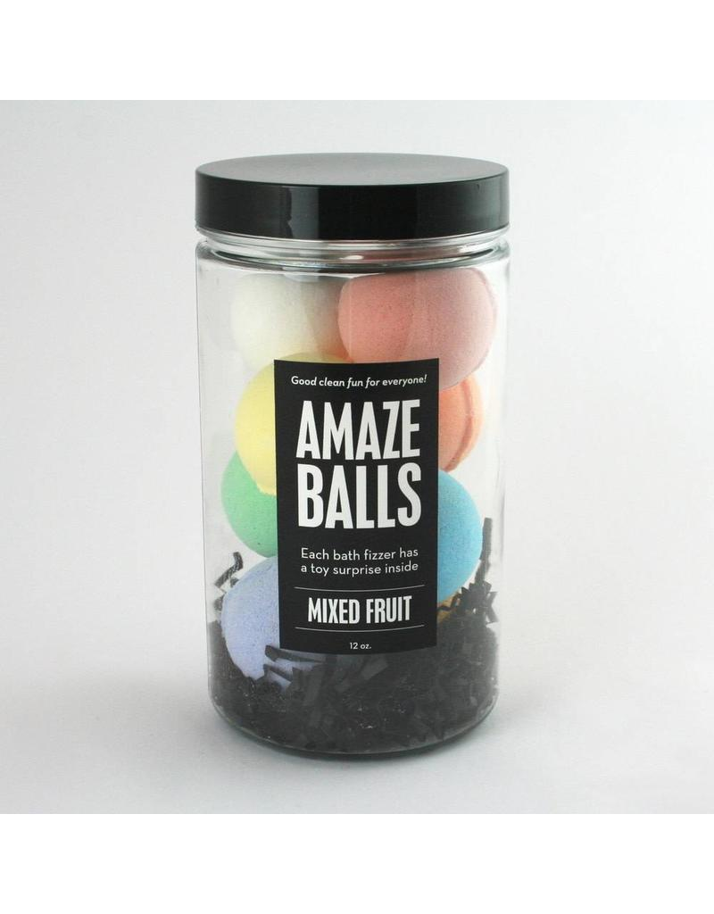 Amazeballs Bath Bomb Jar