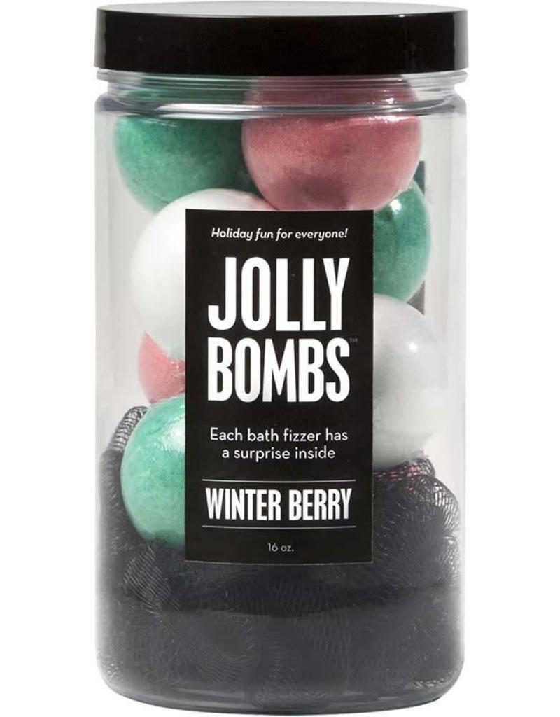 Jolly Bombs Bath Bomb Jar