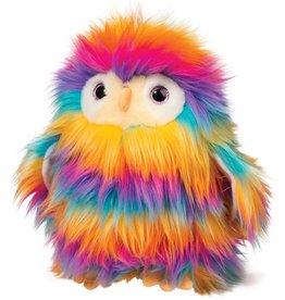 Douglas Izzy Owl Rainbow Fuzzle