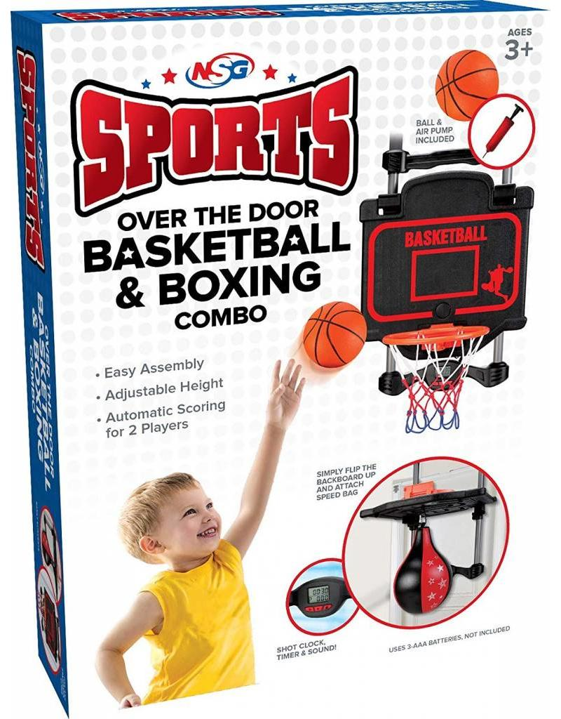 National Sporting Goods Over the Door Basketball & Boxing Combo