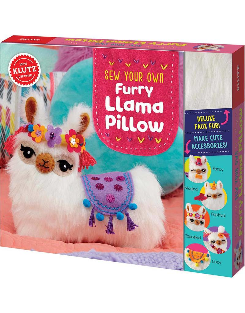 Furry Llama Pillow Kit