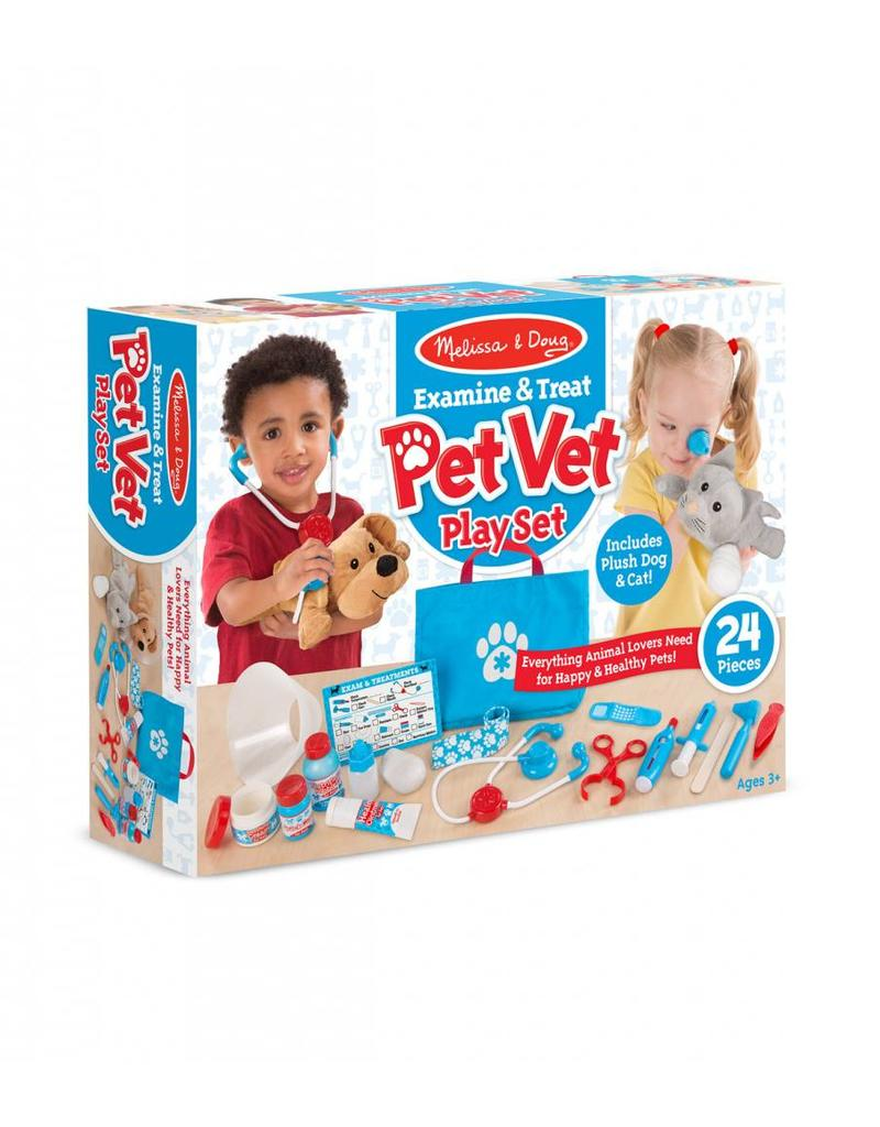 Melissa and Doug Pet Vet Play Set