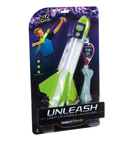 Toysmith Nightzone Unleash Light Up Missile Launcher