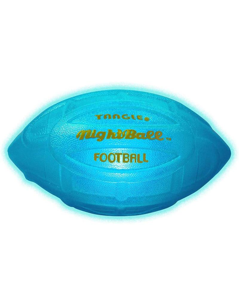 Tangle NightBall Football Blue