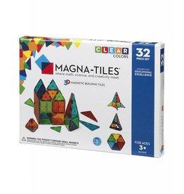 Valtech Magna-Tiles Clear Colors - 32 Pc.