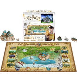 Harry Potter 4D Mini Hogwarts Puzzle