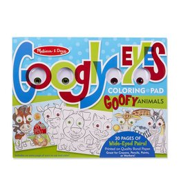 Melissa & Doug Googly Eyes Coloring Pad
