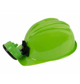 Squire Boone Miner Helmet - Green