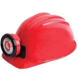 Squire Boone Miner Helmet - Red