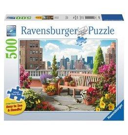 Ravensburger Rooftop Garden 500 pc XL
