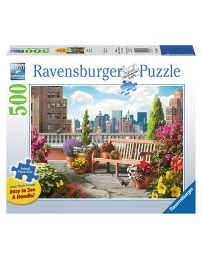 Ravensburger Rooftop Garden 500 pc XL