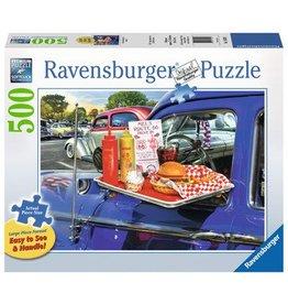 Ravensburger Drive-Thru Rt 66 500 pc XL