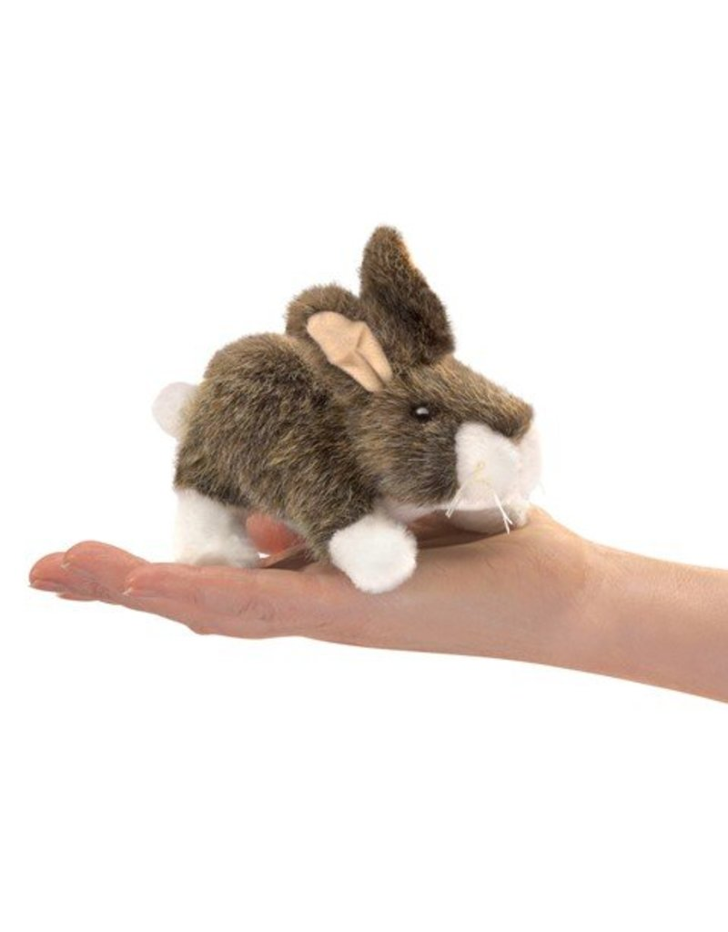Folkmanis Mini Cottontail Finger Puppet