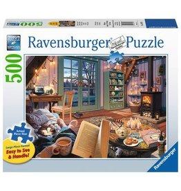 Ravensburger Cozy Retreat 500 pc XL