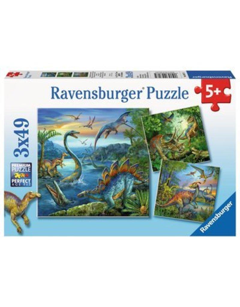 Ravensburger Dinosaur Fascination 3x49 pzl