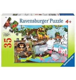 Ravensburger Day at the Zoo 35 pc