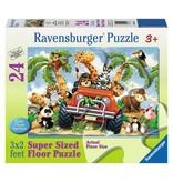 Ravensburger 4-Wheeling floor pzl