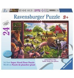 Ravensburger Animals of Bells Farm floor pzl