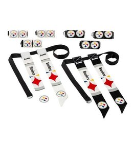 Franklin Sports Steeler Flag Football Set