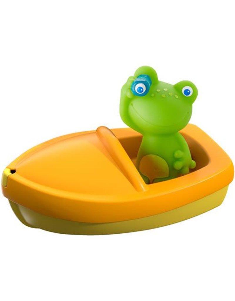 Haba USA Bath Boat Frog