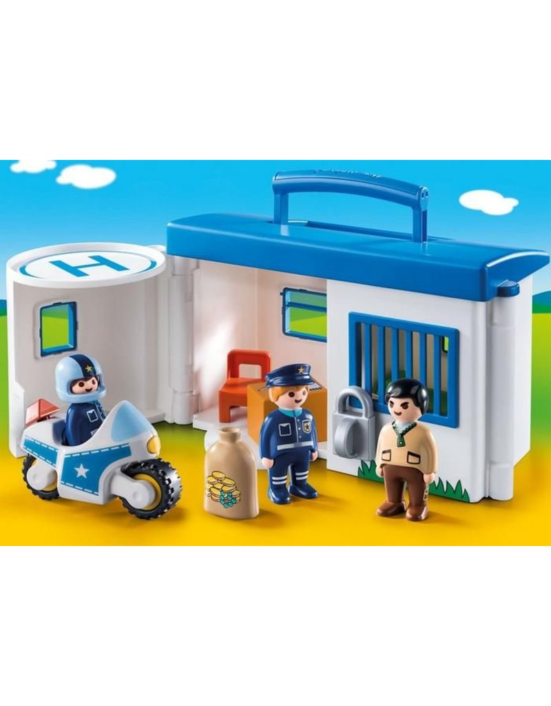123 Take Along Police Station - Castle Toys and Games LLC