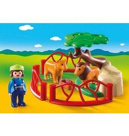 Playmobil 123 Lion Enclosure