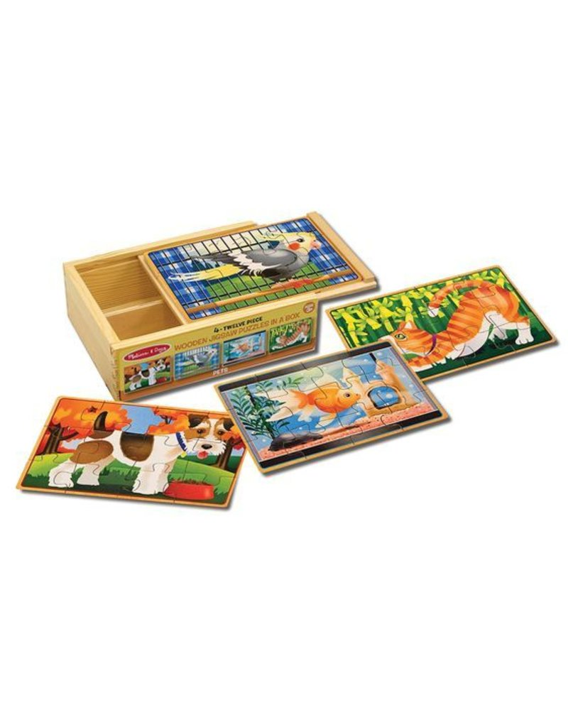 Melissa & Doug Pets Puzzle in a Box