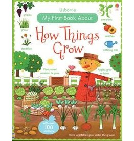 Usborne How Things Grow Sticker Book
