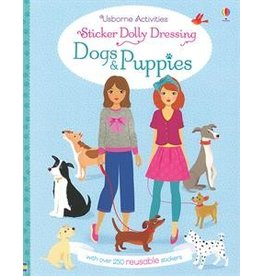Usborne Dogs & Puppies Sticker Dolly