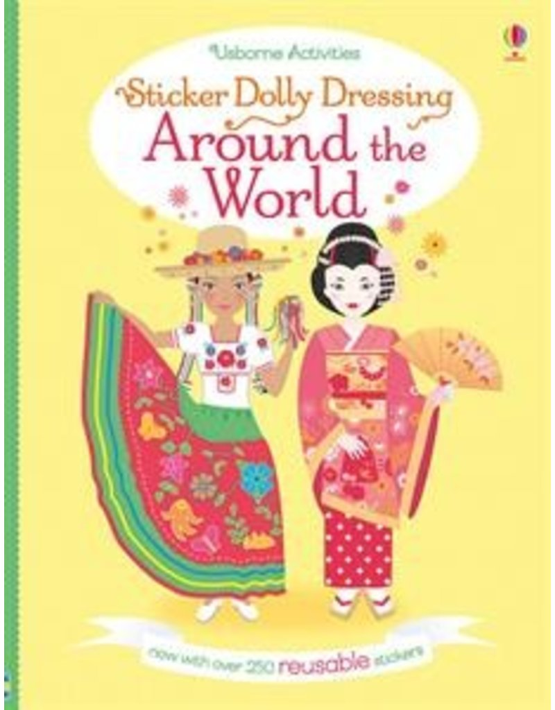 Usborne Around the World Dolly Sticker