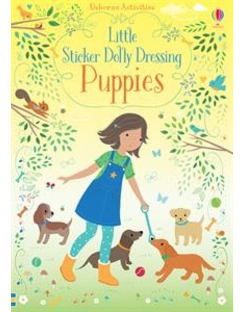 Usborne Little Sticker Puppies