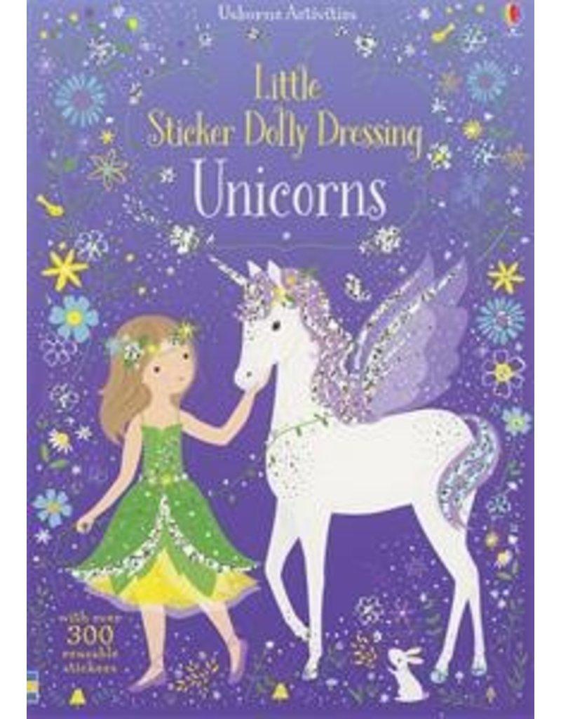 Usborne Little Sticker Unicorns