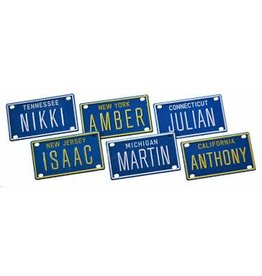 Voorco Design Personalized Mini License Plate