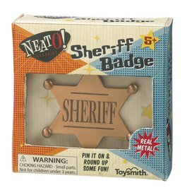 NeatO Sheriff Badge