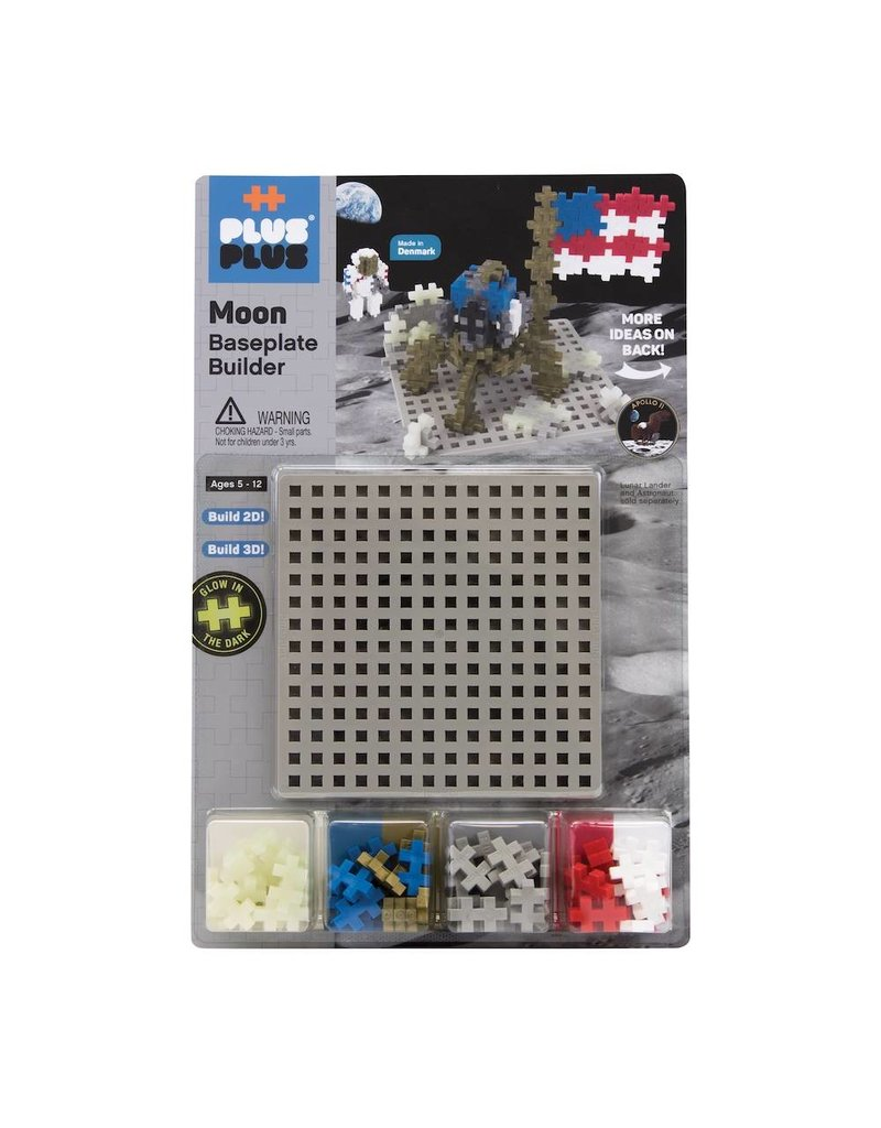 Plus-Plus Plus Plus Baseplate Builder - Moon